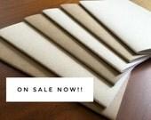 BULK Kraft Notebook 5.25 x 8.25 kraft brown notebook diary journal bulk notebooks party favors sketchbook party favor wedding blank