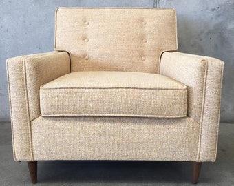 Mid Century Modern Chair -Brand New Upholstery & Foam (UVU9S4)
