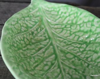 Vintage Leaf Dish