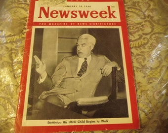 Newsweek January 14, 1946 issue