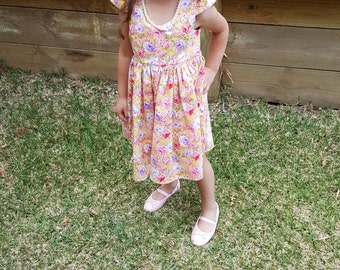 Audrey Dress, Girls Summer Dress - made to order. Limited quantities