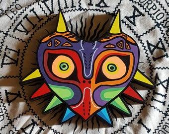 Majora's Mask wooden wall art
