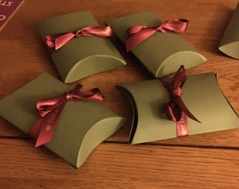 Set of 4 Gift Boxes - colour of your choice