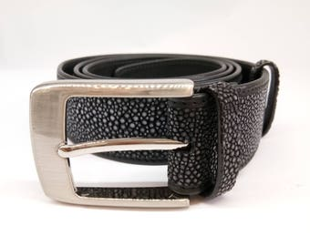 Black stingray belt