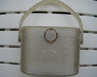 Wilardy VTG Lucite Handbag