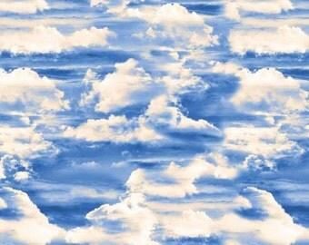 Heaven Sent Blue Cloud Heaven from Benartex by the yard