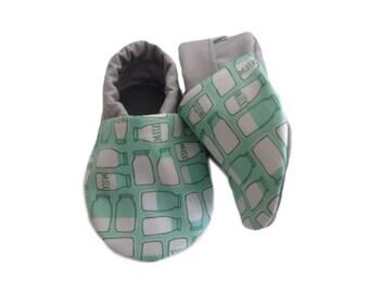 Milk Bottle Baby Shoes