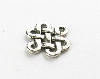 20pcs 14x17mm Celtic Knot Charm Findings MA