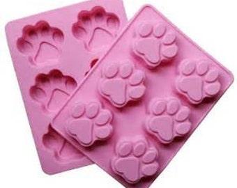 PAW PRINT Silicone Baking Mold