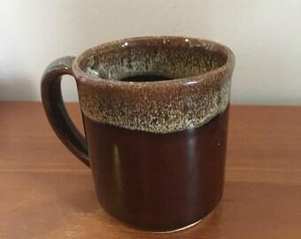 Vintage coffee mugs Brown