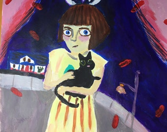 Fran Bow Painting