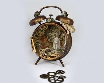 """Watch """"Steampunk Clock"""""""