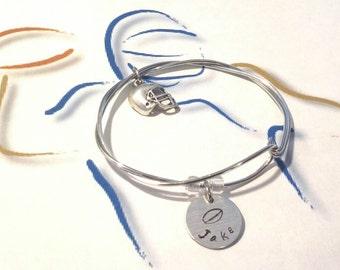Football Bracelet, Football Mom Bracelet, Sport Bracele, Team Bracelet, Coach Bracelet, Custom Bracelet