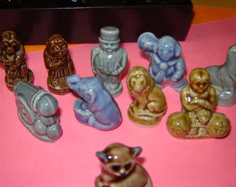 Wade Whimsies Circus partial set 9 different figures.