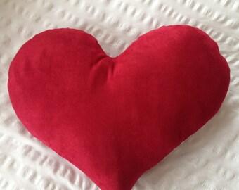 Playing Card Heart Cushion