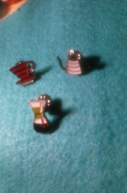 Three Fun Enamel Lapel Pins Cofee Pots And Mug Free Shipping