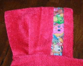 Shopkins Hooded Towel, Pink - For babies, toddlers, preschoolers and beyond!
