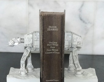 Star Wars All Terrain AT-AT Imperial Walker Bookends