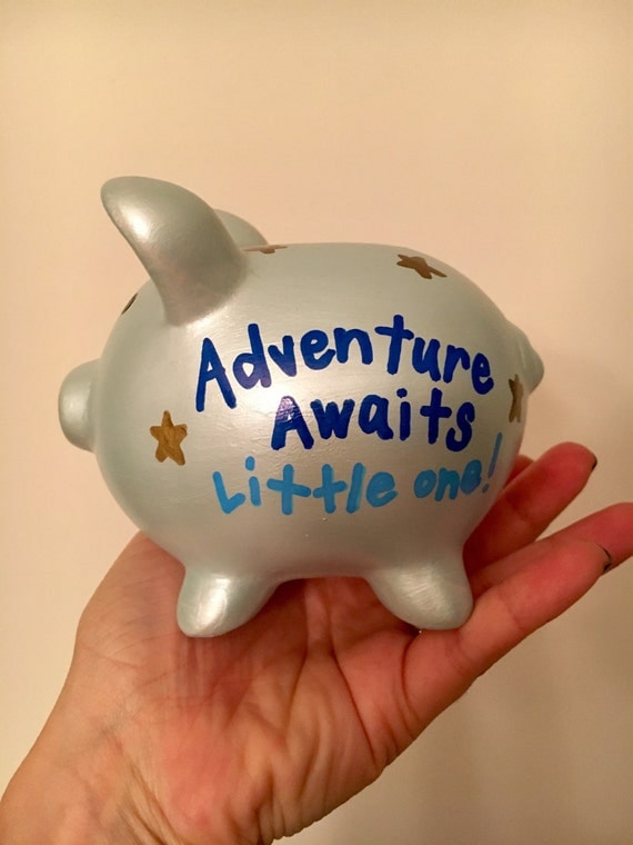 Personalized mini piggy bank with quotes for Mini piggy banks