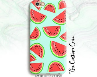 Watermelon IPhone Case, Food Phone Case, Iphone 4/5/5c/6/6+/6s, Samsung Galaxy S3/S4/S5/S6/S6 Edge/6Edge+, Note 3/4/5