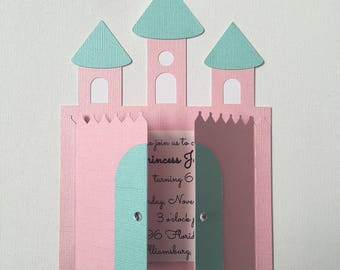 Princess Castle Invitations
