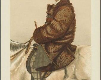 Vanity Fair Print / Lithograph : Frederick Barne  1882