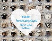 Crochet Pattern Sale - Dog Crochet Pattern - Crochet Dog Pattern - Amigurumi Dog Pattern - Amigurumi Pattern - Crochet Patterns