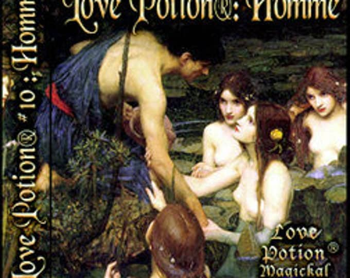 Love Potion: Homme - for Men / Unisex - Handcrafted Fragrance - Love Potion Magickal Perfumerie