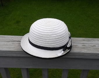 Vintage Mr John straw hat 7