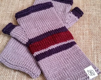 Wrist Warmers // Mittens // Knitted Mittens // Winter Handwarmers // Smart Casual // Gloves // Gifts for Girls // Women Gifts Under 50