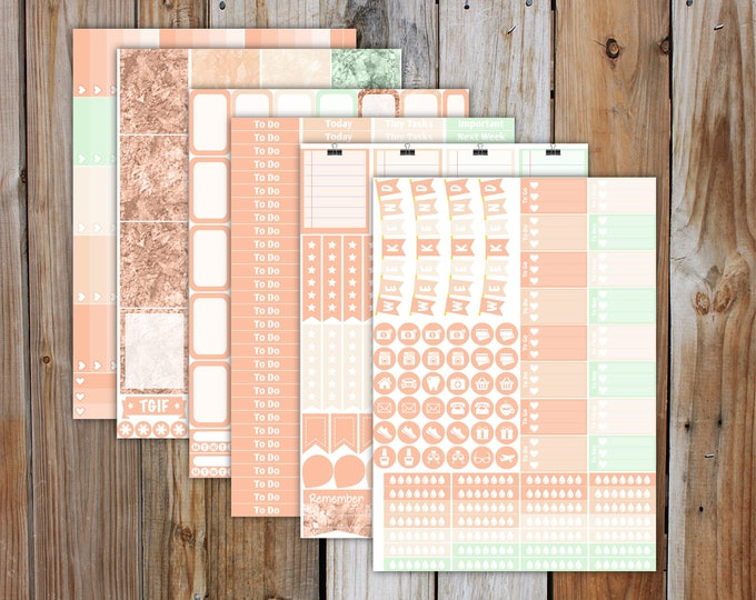 May DELUXE Erin Condren Planner Stickers Monthly Kit (4 weeks of stickers) | for use with Erin Condren LifePlanner | May 2017