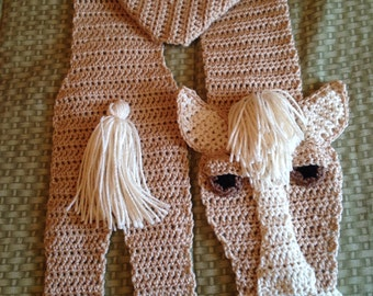 Handmade Horse Scarf, Adult size