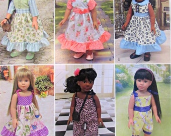 """Doll Clothes Pattern For 18"""" Dolls Simplicity 8070"""