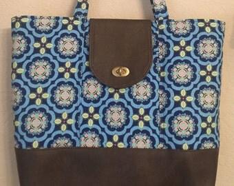 Large everyday bag, Diaper bag, travel bag and market bag