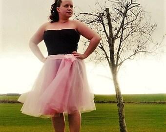 Ballet Skirt - Floaty Skirt - Full Circle Skirt - Adult Floaty Tulle Skirt - Summer Fashion - Long Tutu Skirt - Light Skirt - Long Skirt