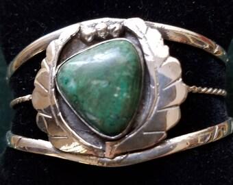 Sterling Silver Turquoise custom made bracelet