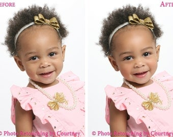 FLAWLESS NATURAL Photo Retouching & Editing