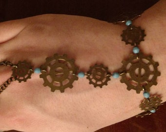 Hand Chain No. 16 - Steampunk
