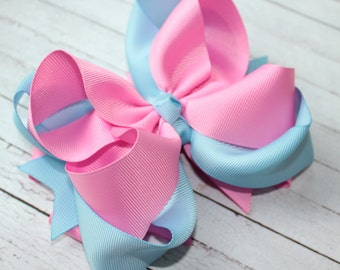 Large pink hair bow Large hair bow Boutique hair bow pink hair bow Large bow Pink bow Boutique bow Hair bow Girls hair bow Large pink bow