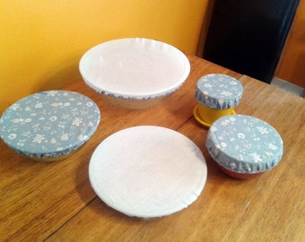 Bowls fabric lid