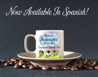 SPANISH | JW | Custom Thank You Mug | Elder's Gift | Present | Isaiah 32:2 | Jehovah's Witnesses | Pioneer Gift Active