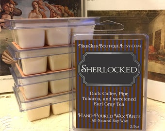 Sherlocked Soy Wax Melt – 2.5oz
