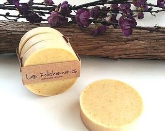 Sweet almond handmande cold process soap