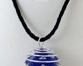 D20 Cage Dice Necklace