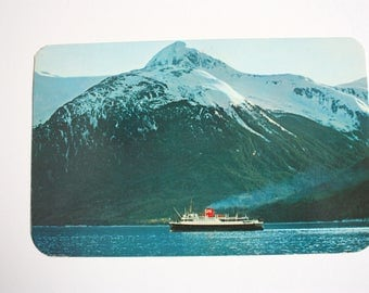 Canadian National Steamship S.S. Prince George Alaska to British Columbia Postcard  / vintage Steamship vintage cruise ship