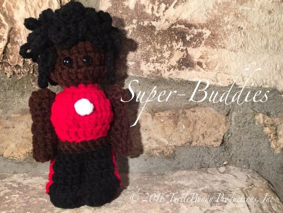 Ironheart Superhero Inspired Nerd Crochet