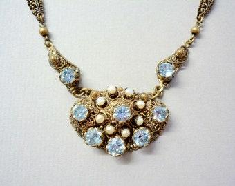 Belle Epoch Filigree Necklace