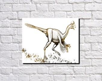 Dinosaur Print Movie Monster Poster Dinosaur Decor 5682