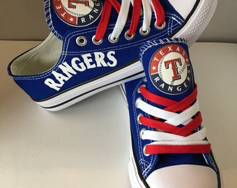 Texas Ranger's tennis  shoes