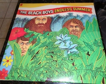 """Beach Boys """"Endless Summer"""" - 1970's Double Vinyl Capitol Record - Excellent Condition - Free Shipping!"""